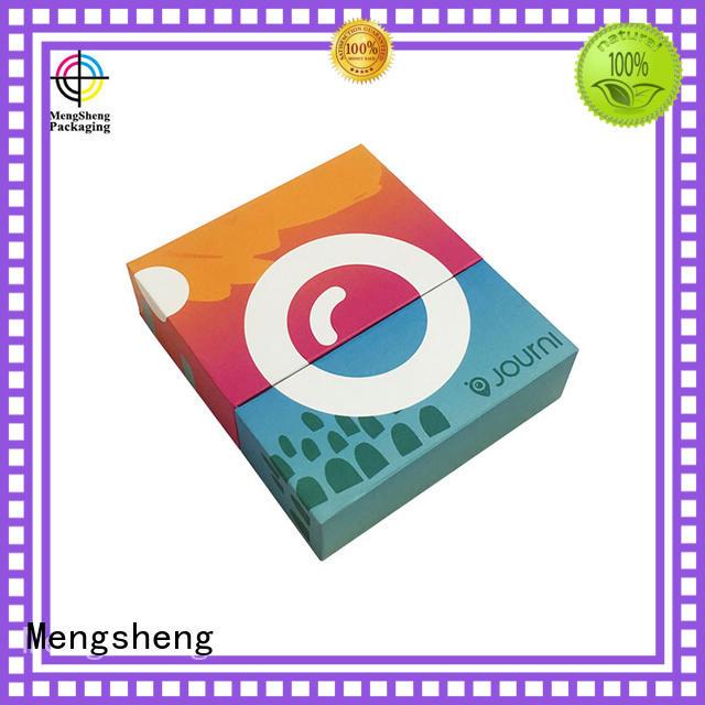 Mengsheng headphones packaging lidded cardboard boxes special chocolate packing