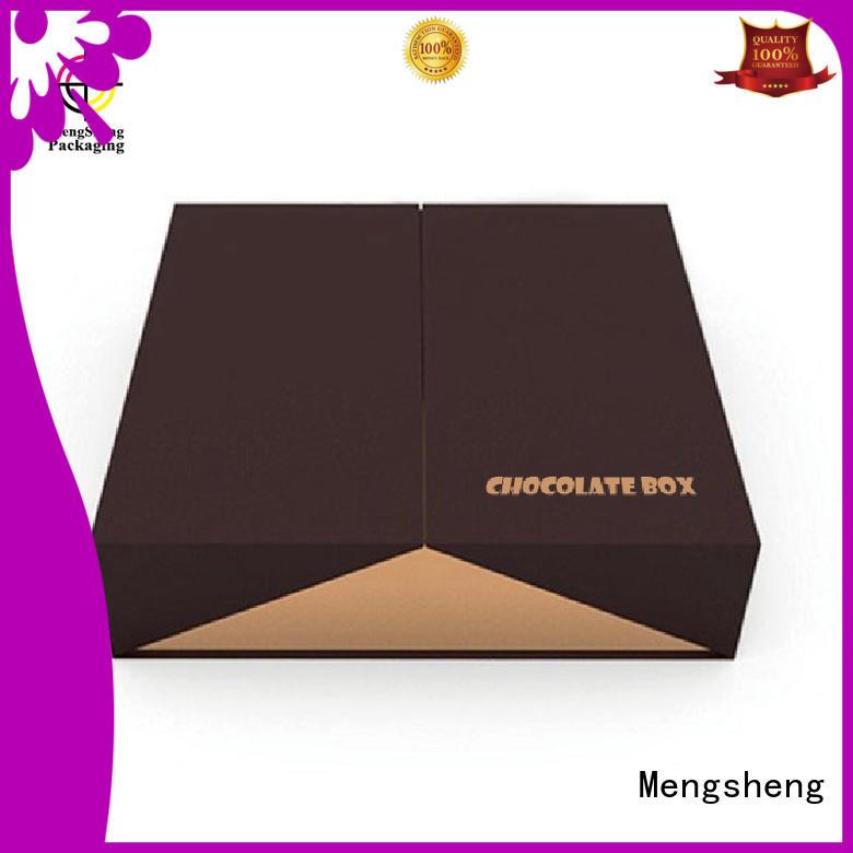 Mengsheng Brand divider ribbon food printing fudge boxes