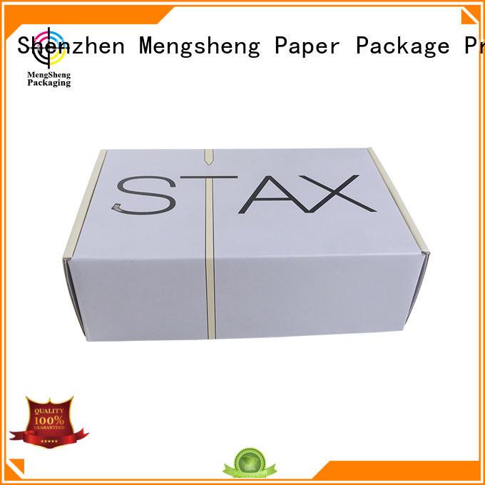 white corrugated boxes wholesale wine bottles convenient Mengsheng