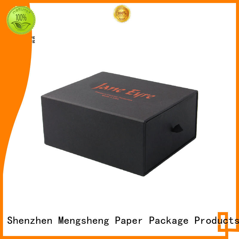 custom color custom slide boxes factory price with ribbon free sample