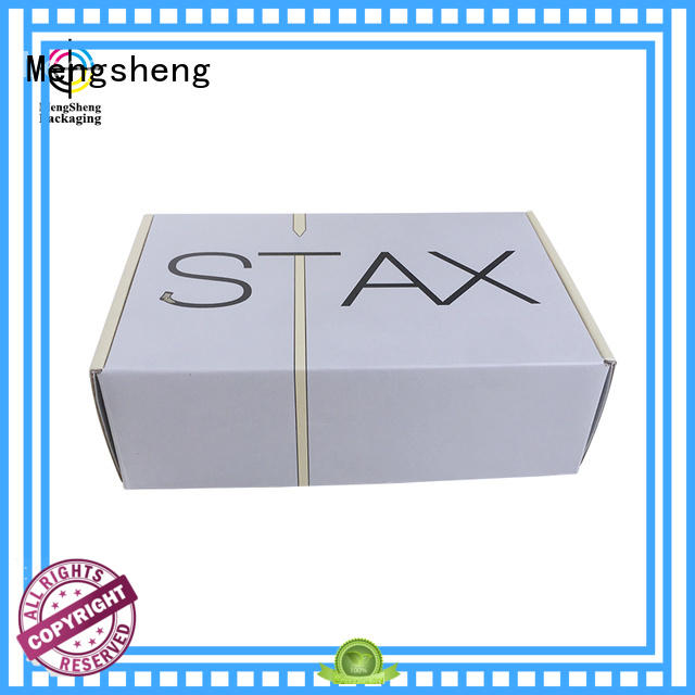 shipping boxes for sale kraft top boxes Mengsheng Brand