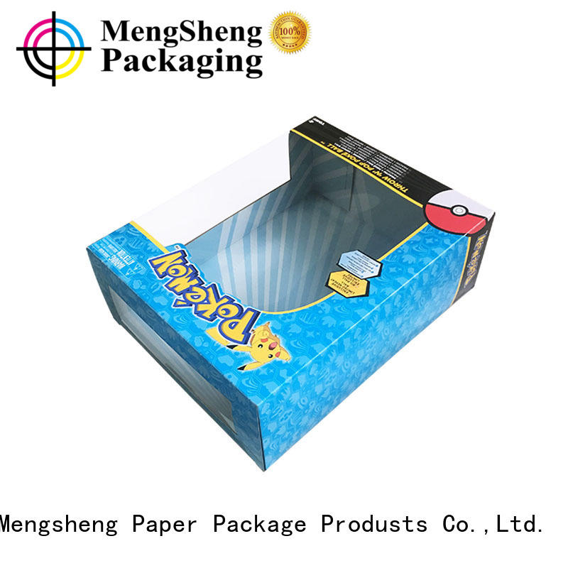 packaging plaything paper window custom toy packaging Mengsheng Brand