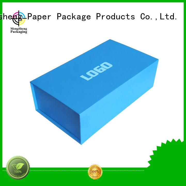paper magnet luxury full Mengsheng Brand foldable box supplier
