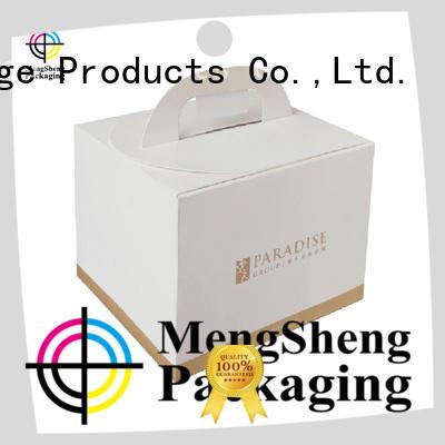 colors large cake box single Mengsheng