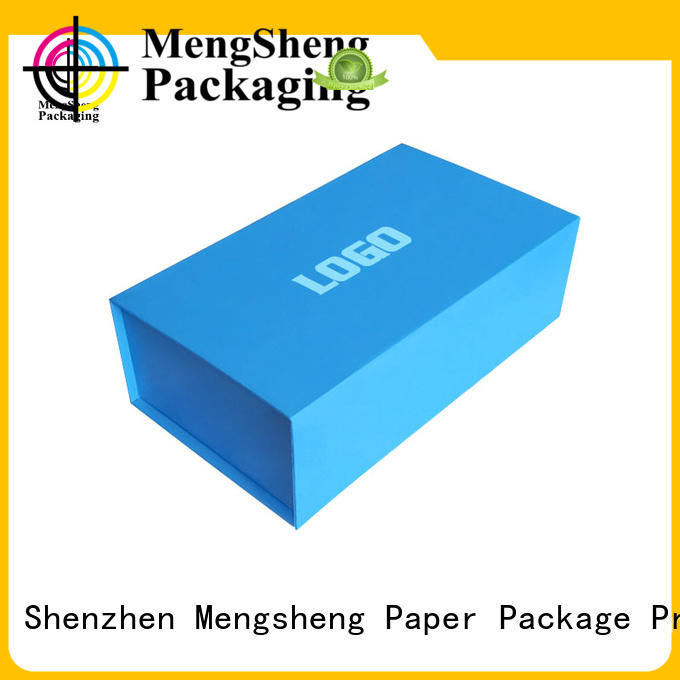 Mengsheng durable foldable box shipping clothing swimwear packing