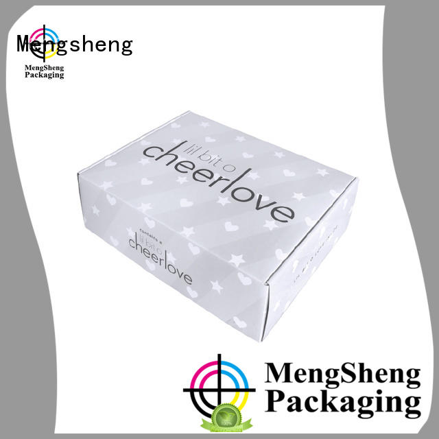 stamping corrugated box plant shoes packing eco friendly Mengsheng