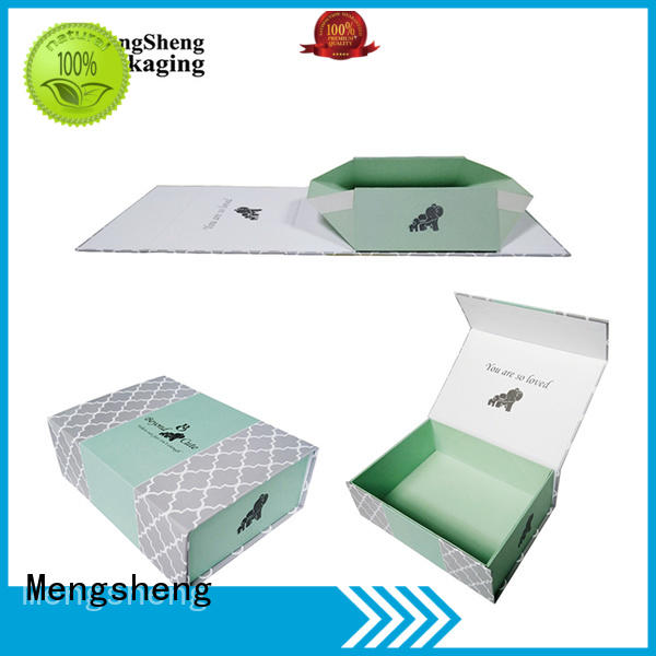 folding folding box template easy closure swimwear packing Mengsheng