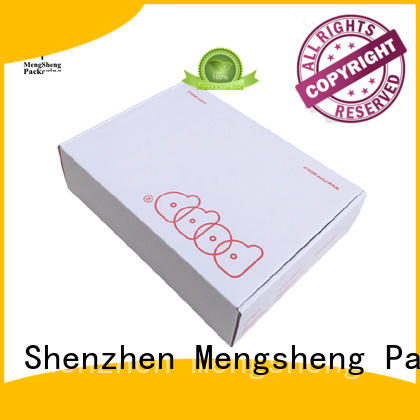boxes paper corrugated cloth box Mengsheng Brand