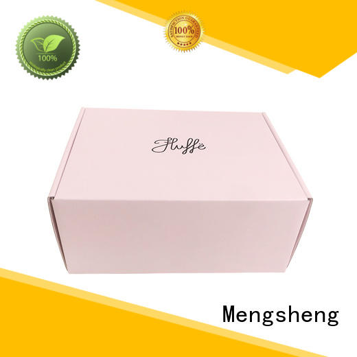 Mengsheng Brand printed box style small shipping boxes