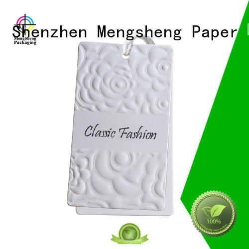 handmade paper hang tags garment special for wholesale