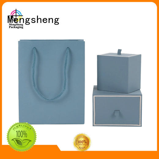 specialty drawer jewelry gift boxes Mengsheng manufacture