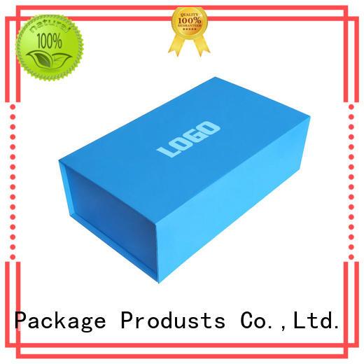 Mengsheng Brand close blue storage foldable paper box printing
