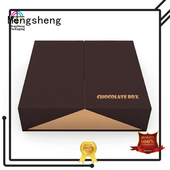 Mengsheng fancy candy cartons waterproof for storage