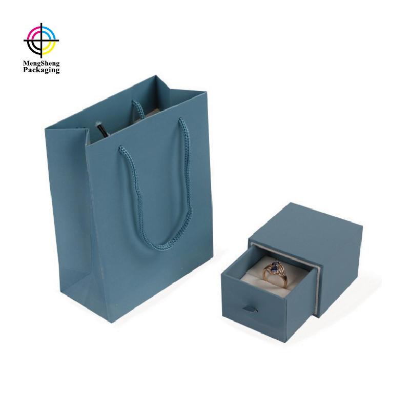 Mengsheng kraft bracelet box shoes packing convenient-2