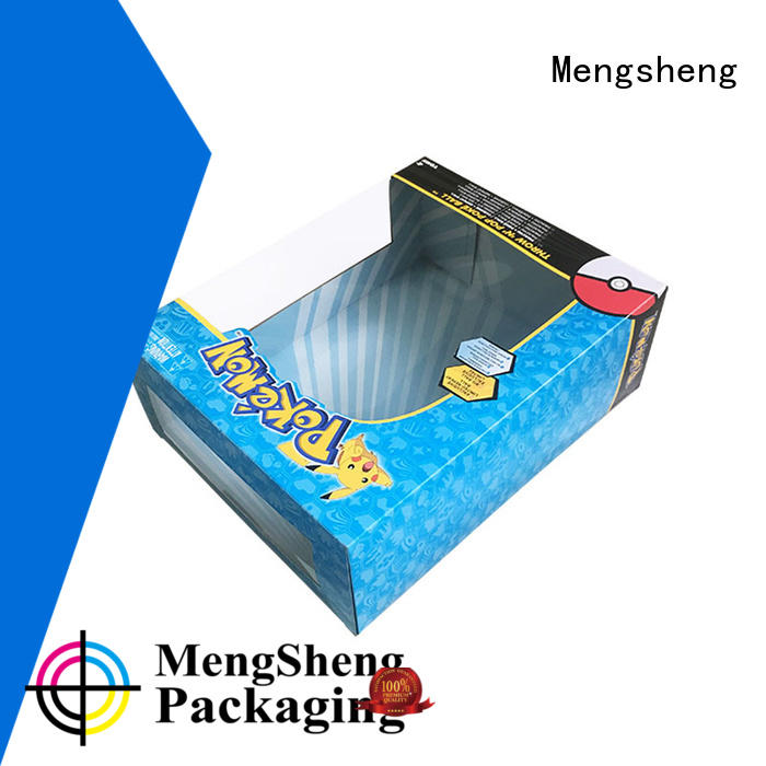 Mengsheng Brand packaging custom toy packaging paper supplier