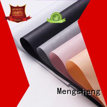 Mengsheng logo gold tissue paper latest deisgn