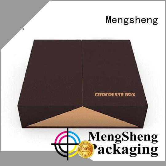 packaging empty box luxury fudge boxes Mengsheng