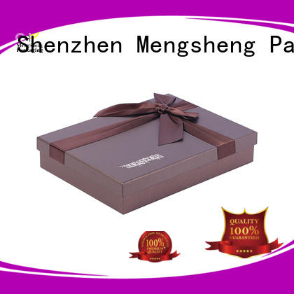 Mengsheng magnetic closure square gift box sturdy top brand