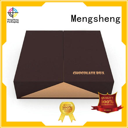 divider empty gift boxes for chocolates waterproof for storage Mengsheng