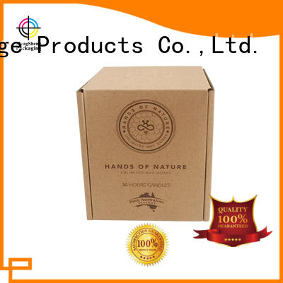 Mengsheng natural kraft paper branded boxes suppliers stamping eco friendly