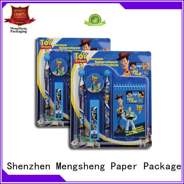 blister cards packaging bulk production Mengsheng