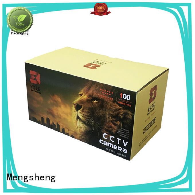 Mengsheng hot-sale printed cardboard boxes logo printed swimwear packing