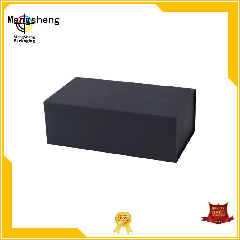 Mengsheng multifunctional folding packaging boxes luxury garment packing