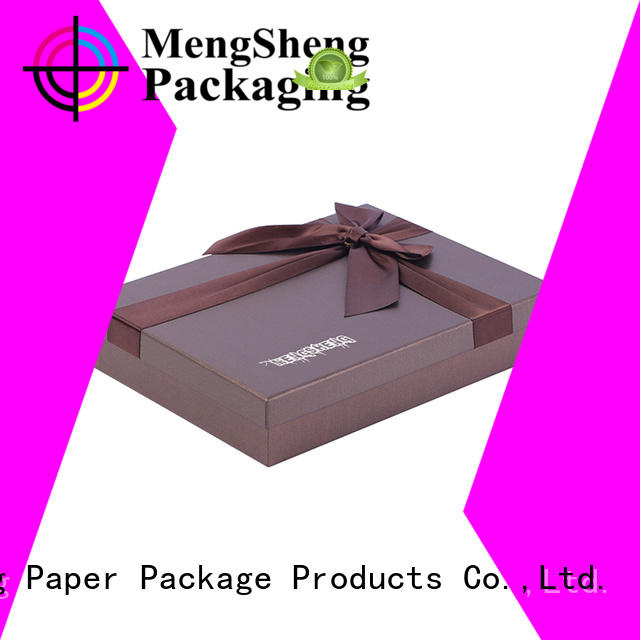 Mengsheng magnetic closure empty gift boxes sturdy