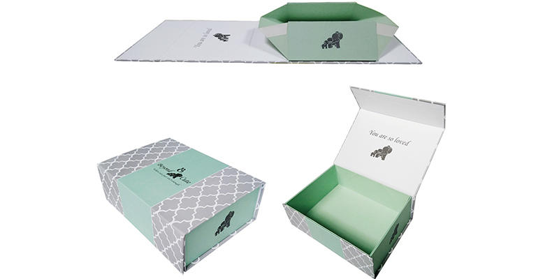 Mengsheng multifunctional folding packaging boxes luxury for florist-2