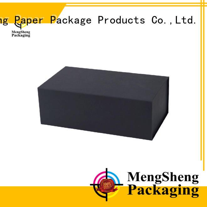 Mengsheng folding fold out box easy closure swimwear packing