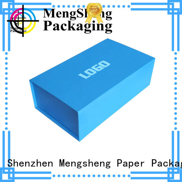 waterproof small folding gift boxes folding for florist Mengsheng