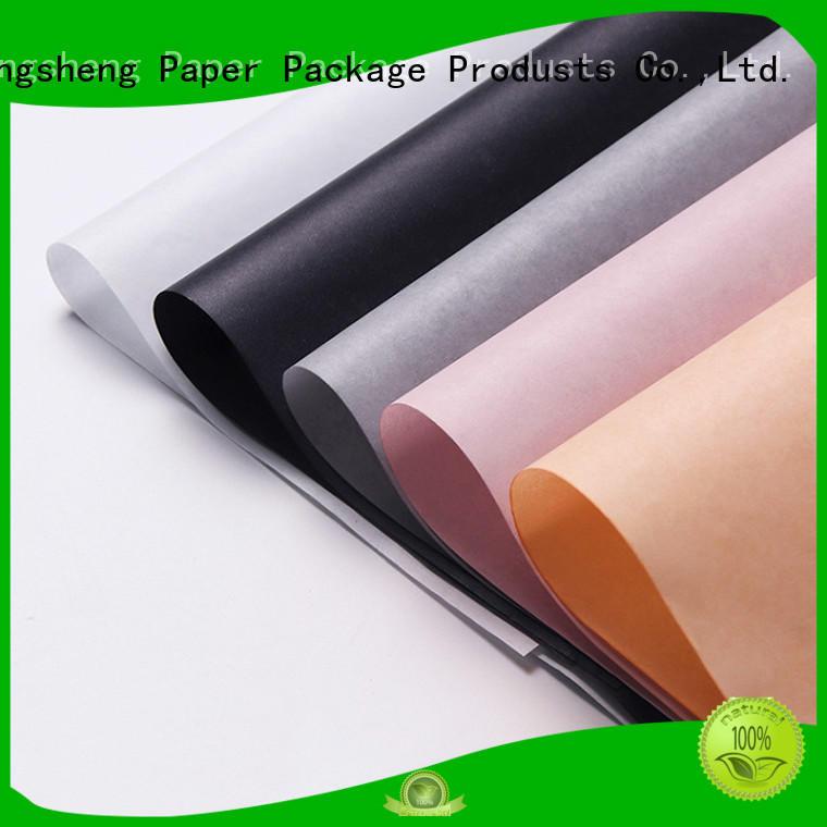 Hot coloured tissue paper logo Mengsheng Brand