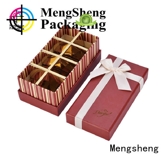 magnetic chocolate candy packaging matte for packing Mengsheng