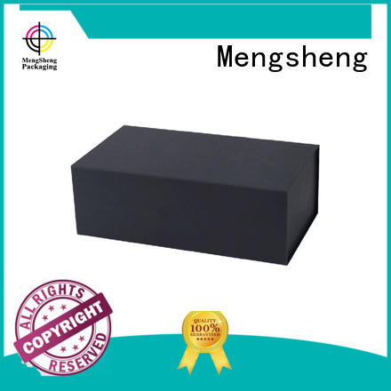 Mengsheng multifunctional easy fold boxes logo printed for florist