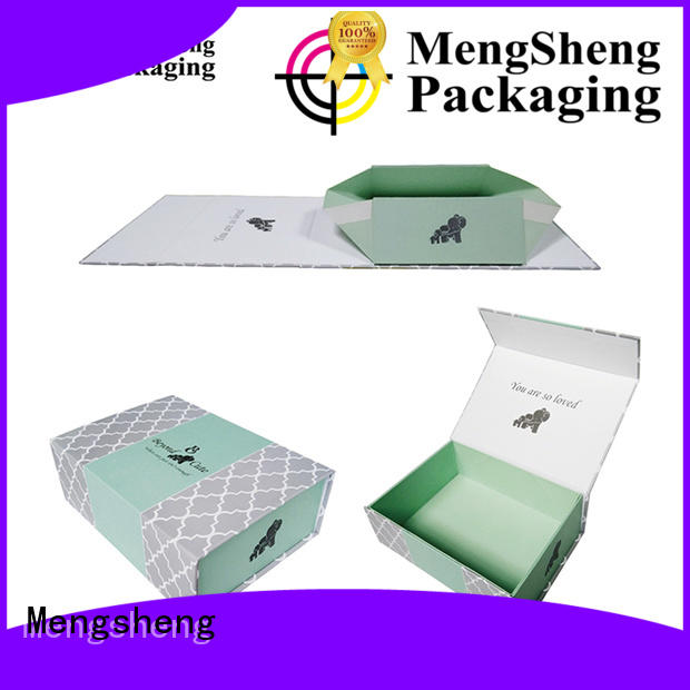 hot-sale foldable box luxury shipping clothing garment packing