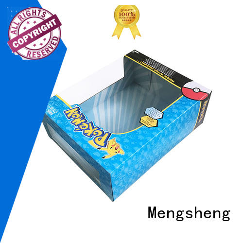 Mengsheng box of toys free sample with handles