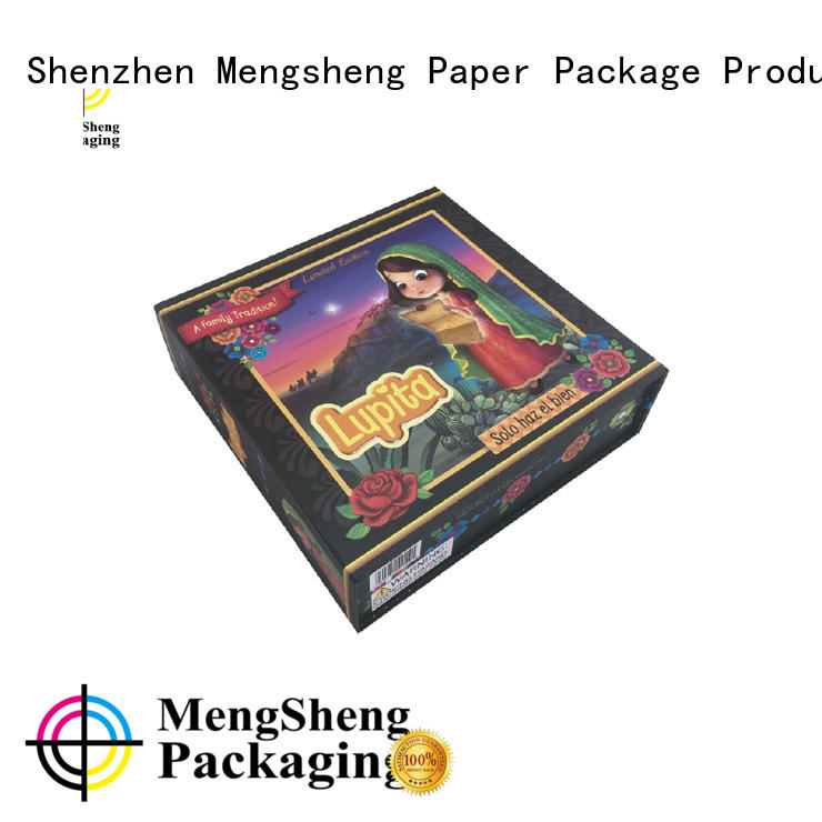 foldable paper box memory printing magnet Mengsheng Brand