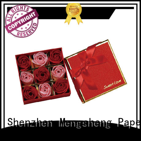 Mengsheng on-sale rose flower box made for delivery