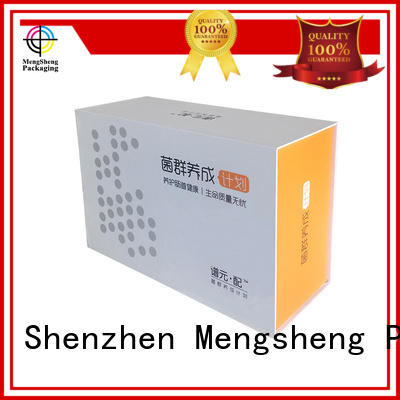 book customized cards magnet gift box foam Mengsheng Brand