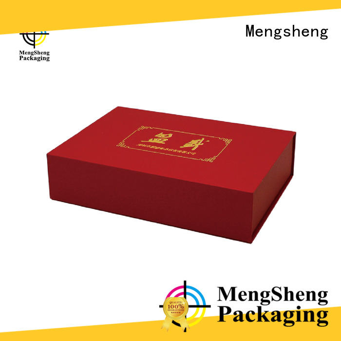 Mengsheng round tube custom printed boxes customized top brand