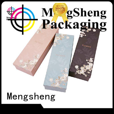 Mengsheng Brand professional packaging flower box delivery
