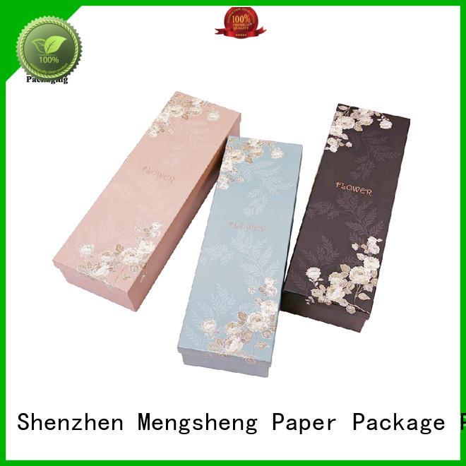 gift florist rose boxes paper for delivery Mengsheng