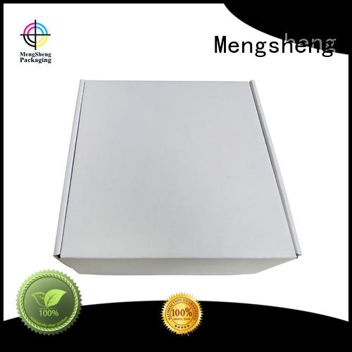 Mengsheng apparel shipping wedding dress box at discount with handle