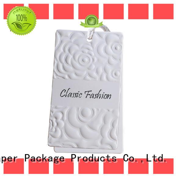 Mengsheng custom paper tags ribbon design chocolate packing