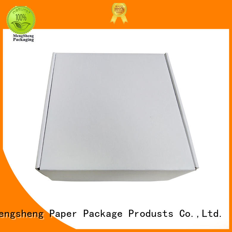boxes for clothes shipping packaging color Mengsheng Brand company