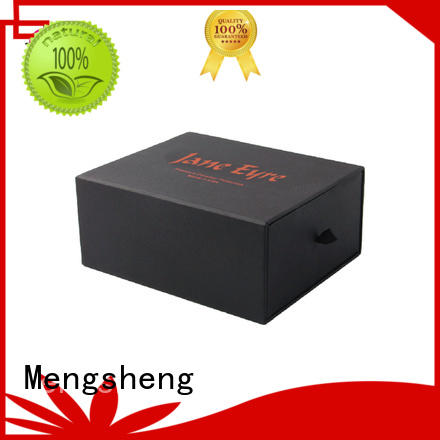 cardboard drawer box logo color box Mengsheng Brand paper drawer box