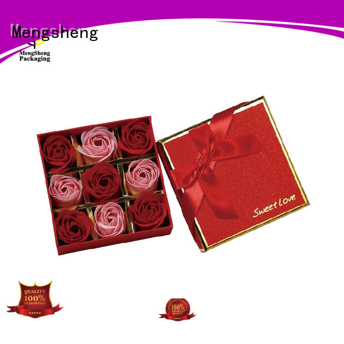 Mengsheng hot-sale rose bouquet box free sample for shipping