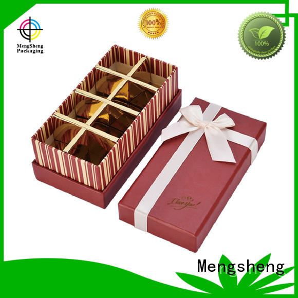 Mengsheng wholesale empty sweet boxes waterproof for packing