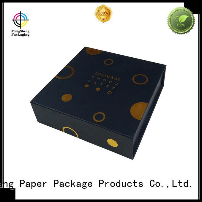 hot-sale magnet gift box printing clothing shipping Mengsheng
