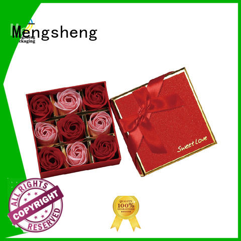 Mengsheng on-sale rose bouquet box top selling for packaging